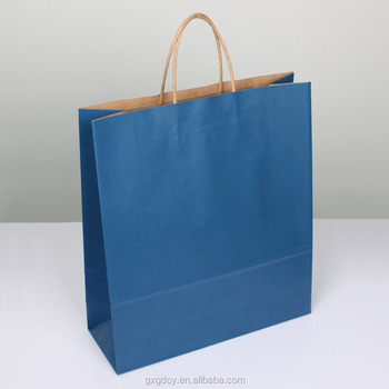 Factory sale all designs food packaging paper bag with low cost/kraft paper bags