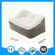 Hot Sale Inflatable Foot Rest For Travel,Inflatable Foot Rest Pillow,Flocked Inflatable Foot Cushion