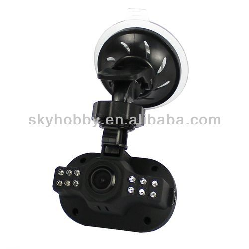 Full HD 1080P Car DV G-sensor 12 LED 1.5 TFT IR Night Vision Cam Camcorder C600