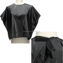 Black Waterproof Cape Gown Cloth Salon Dye Perm Barber Hair Cutting Hairdressing Hairdresser Styling Tools