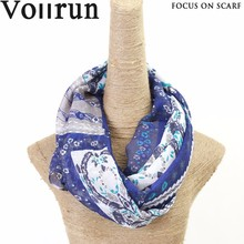 Customize Pretty Dark Blue Modal Religious Scarves