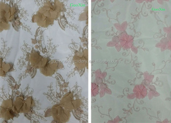 2014 Factory cotton emboridery lace fabric