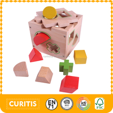 2016 Hot Sale Toys Kids Montessori Wooden Blocks Toys Most Popular Blocks Sets For Kids