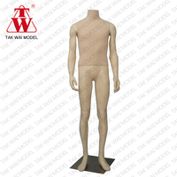 Hot sale muscle men full body fiberglass showcase human dummy