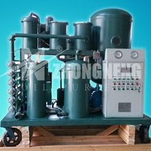 Wasted Oil Treatment Equipment/2017 Hotsale TYA Vacuum Used Hydraulic Oil Purifier for remove water