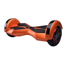 Self balance car 8inch two wheels lighted wheel kick scooter with led light and remote function