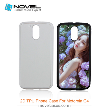 New Sublimation soft rubber case for Motorola G4 ,sublimation tpu case