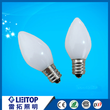 E12 C7 candle bulb for decoration