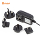 4.2V dc Switching Power supply 4.2W interchangeable AC plug Universal AC-DC power adapter