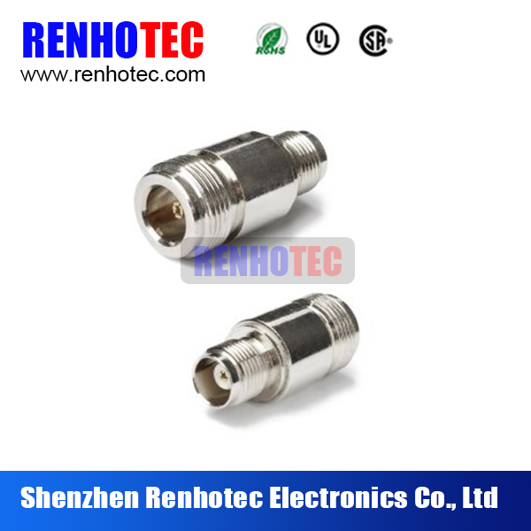 RF Coaxial Adapter N Female to TNC Female Connector