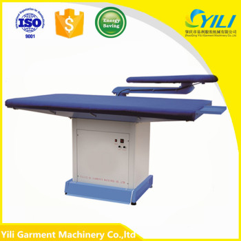 vacuum suction table top flat ironing board energy saving foot operated