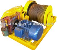 electric motor Winch with squirrel cage rotor three-phase asynchronous motors