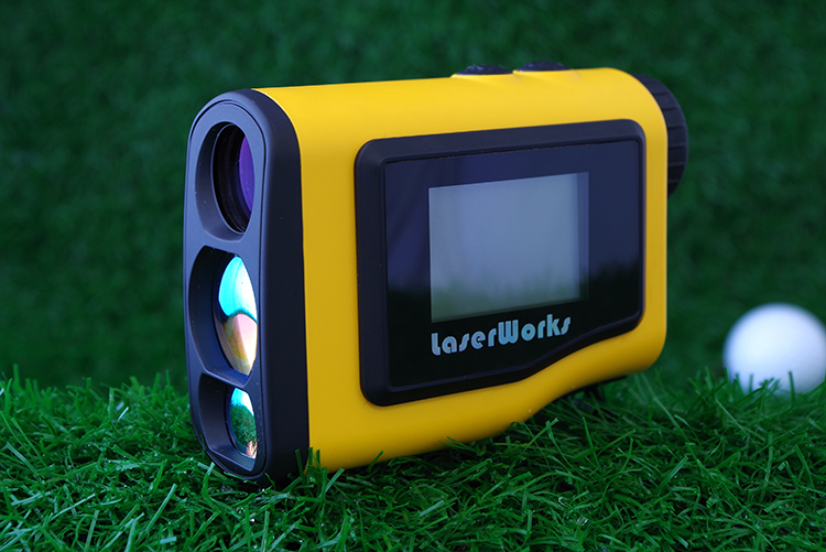 High Precition Laser Measure Instrument 1000M Laser Golf Rangefinder with Flag and Pinseeker Pole Locking Function