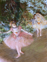 Dancer on stage edgar painting reproduce oil paintings