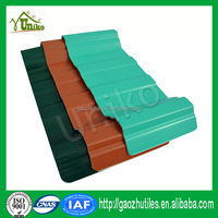Plastic anti corrosion pvc roof shingle indonesia roof tile
