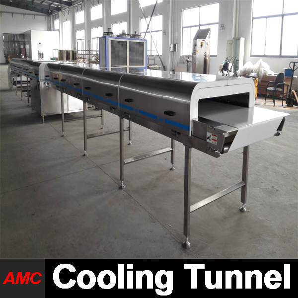 Crystallization Process Electrically Controlled face bone Cooling Tunnel Machine For Industry Production Line