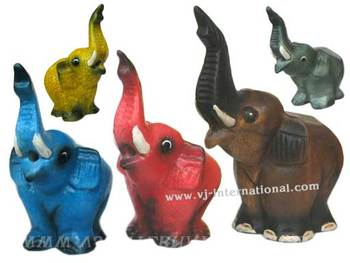 Wooden Animal Music Toys Elephant, Jeux Animaux Bois Elephant Musical