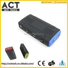 function Emergency 12v Power Source portable mini car jump starter,power bank car jump starter with air compressor