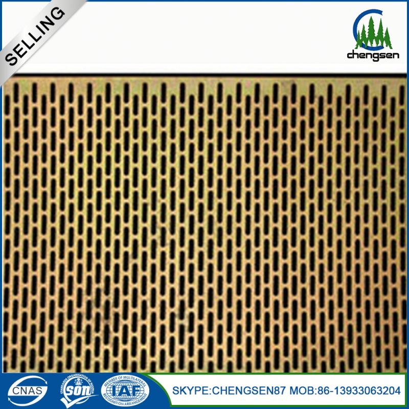 hole galvanized perforated brass sheet metal carton box