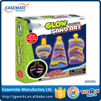 Glow in the Dark Super Sand Art Kit - Sand Art Projects