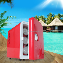 4L Portable mini fridge,cooler and warmer for car and home use