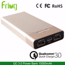 Quick Charge QC3.0 Power Bank/ 10000mAh Fast Charging Mobile Power