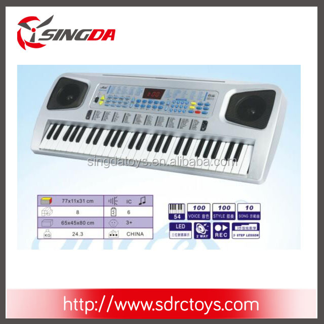 Hot sale 54 Keys Multi-function Electronic Organ Keyboard