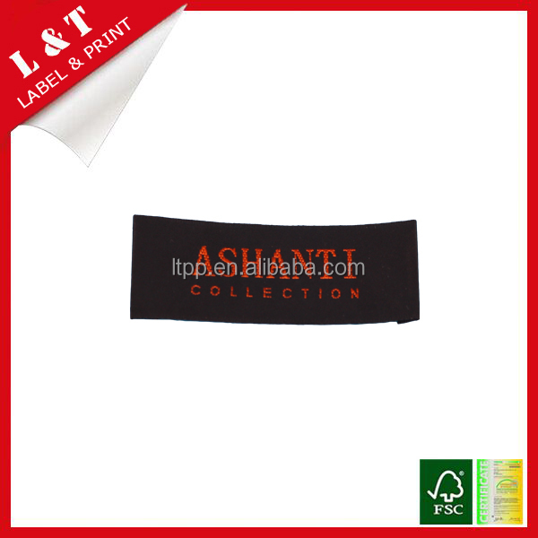 China cheap factory directly brand name clothing woven labels