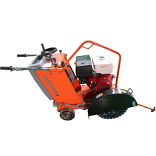 Portable push model concrete cutter