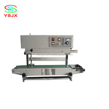continuous pure water sachet/stand up pouch hermetic sealing machine
