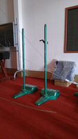 High quality Badminton post Portable indoor /outdoor badminton post seller