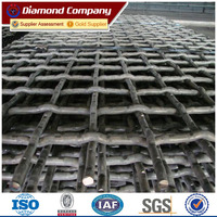 Heavy duty vibrating screen mesh/Wedge wire screen mesh used in crusher and quarry