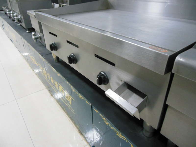 stainless steel Countertop Gas Griddle