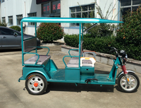 48v 850W three wheel for passager electric rickshaw electric tricycle