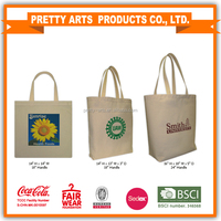 Cotton canvas Tote bag for carring groceries and shopping