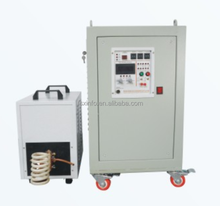 Portable medium frequency induction heat treating equipment for Steel Round Bar