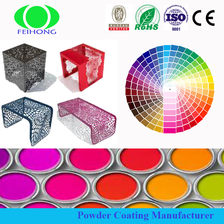 Feihong brand Ral color spray powder polymeric paint