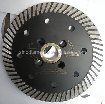 5inches turbo diamond saw blade for ceramic/tile/porcelain cutting