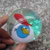 High Quality 3D Penguin Shape TPU Flashing Bouncing Ball