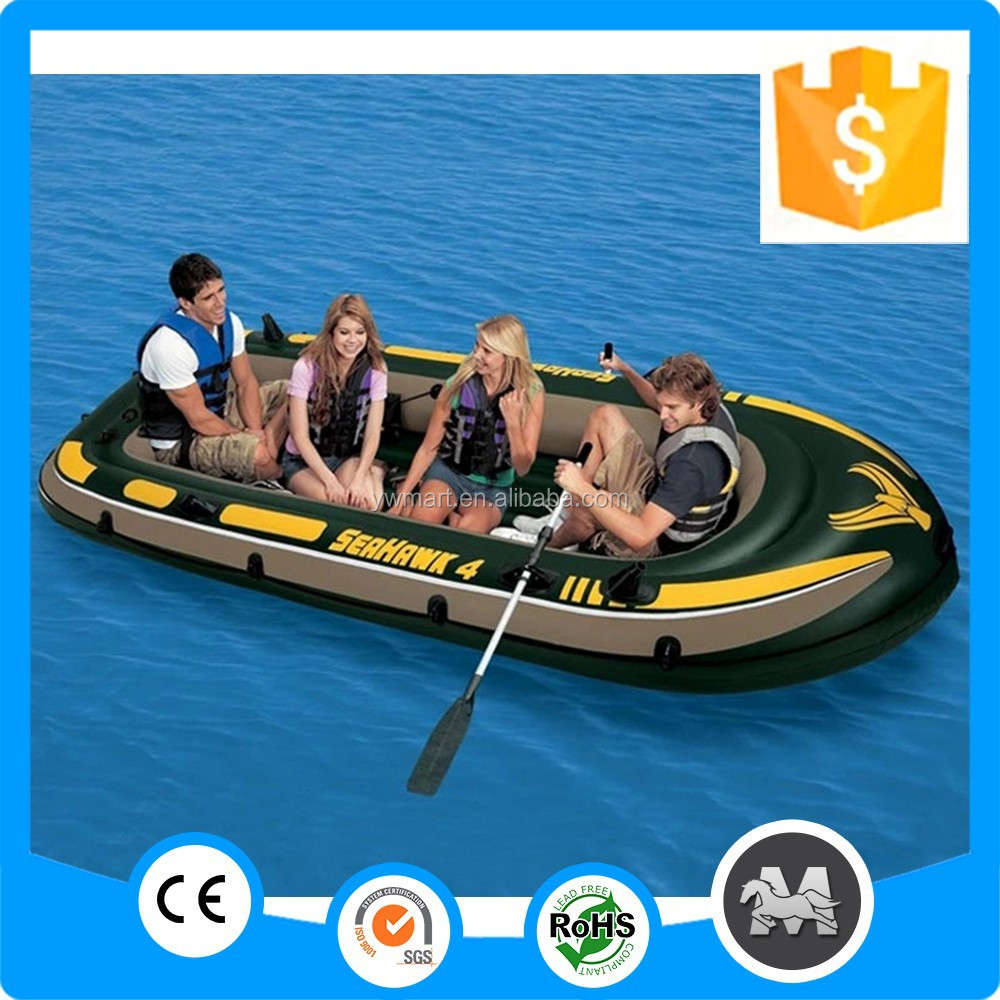 4 people 351* 145*48cm cheap large inflatable <strong>boat</strong> made in China
