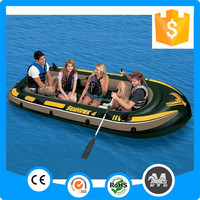 4 people 351* 145*48cm cheap large inflatable boat made in China