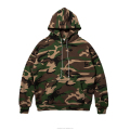 100% Cotton Dircet Injection Camo Hoodie Fleece Sublimated Hoodie in Green Purple Red Camo Military Uniform Fashion Suit