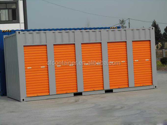 China 20ft Rolling Doors Storage Shipping Container for Motorbike and Home Appliance