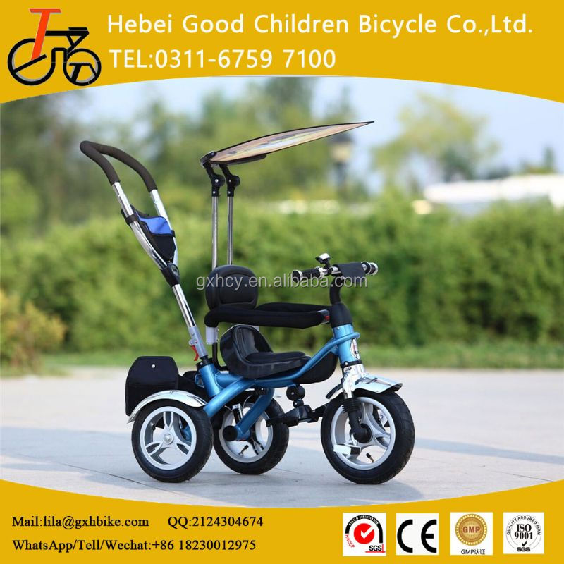 cheap trike/baby stroller/kids push tricycle wholesale