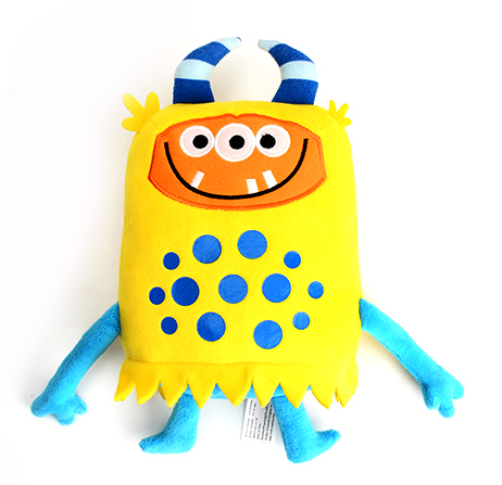 Kids doll Milo cute monster toy soft stuffed animals