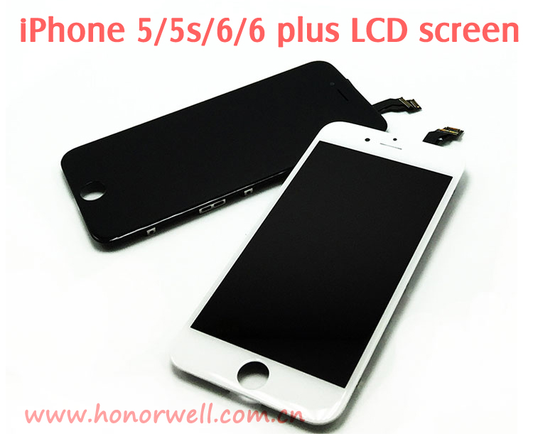 Mobile phone Touch LCD Screen for Phone 5/5s/6/6 plus Liquid Crystal Display for replacement 4.7 inch
