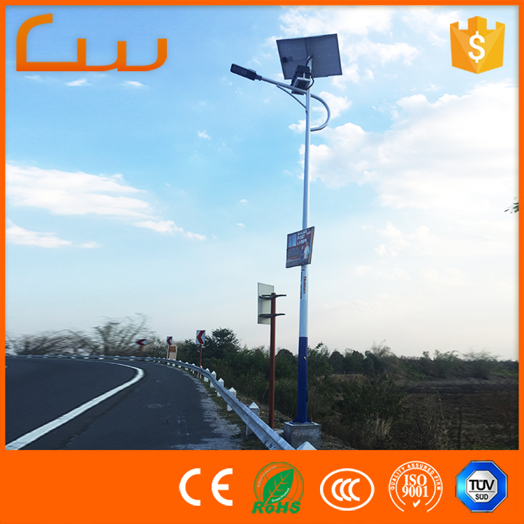 Cheap price cast iron lighting posts 30w LED photocell street lamp