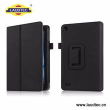 New Arrival Leather Cover Notebook Tablet Case for Amazon Fire 7