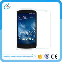 high quality 3d clear tempered glass screen protector for htc 526