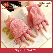 W4021 New phone touch gloves fingerless gloves for women fashion fingerless ladies gloves